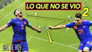 Lo que no se vio del gol de Falcao y Yerry Mina