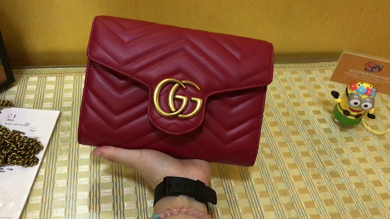 c779364b559 Gucci Bag for Gucci Women s GG Marmont Matelasse Leather Mini Bag ...