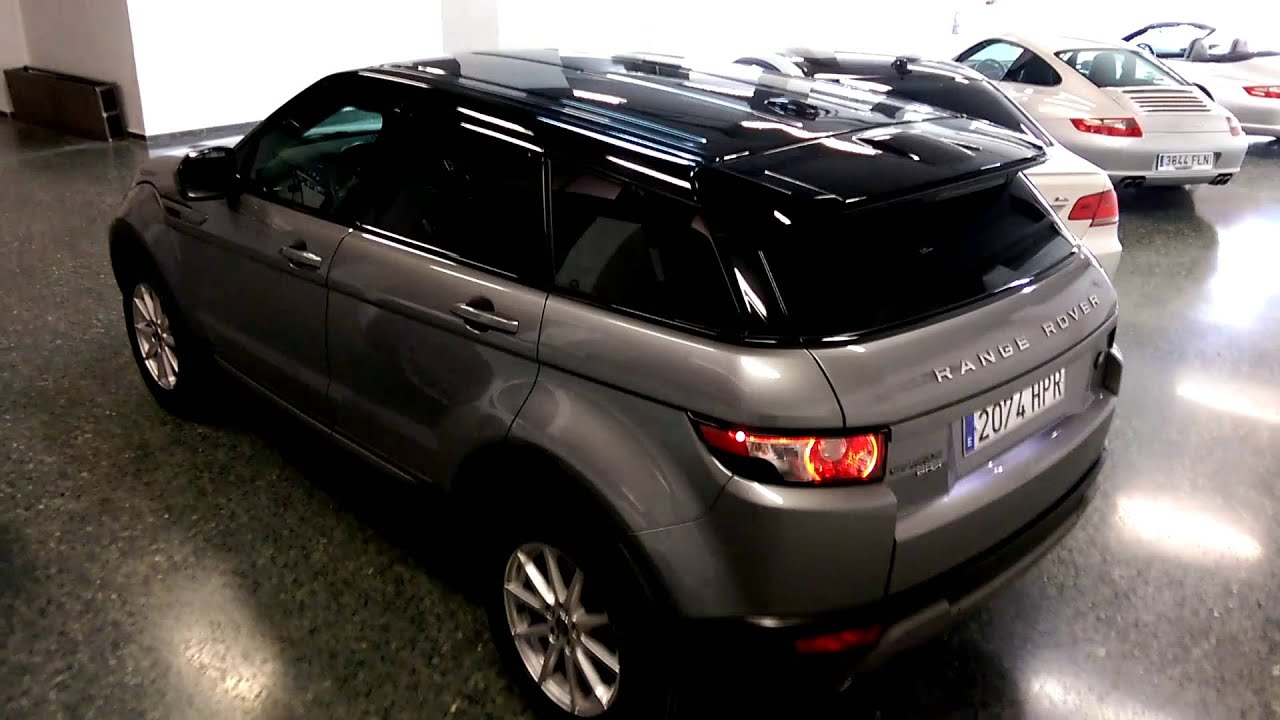 Range Rover Evoque grey & black
