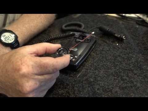 Escort 9500ix Audio Fix