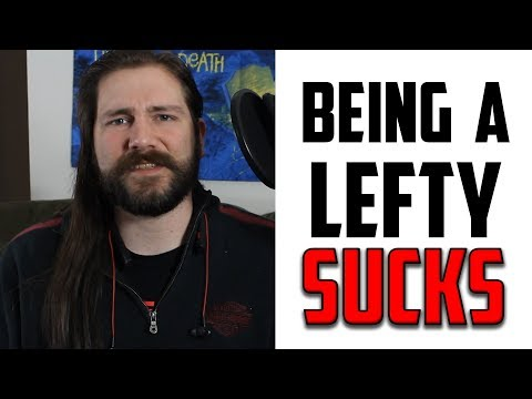 Why it Sucks Being a Lefty Guitarist | Mike The Music Snob