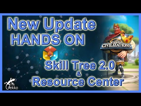 Rise of Civilizations - New Talent Tree & MORE