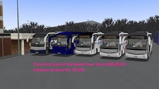 omsi 2 the first look at the brand new volvo b9r b11r caetano levante by ad156