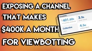 Exposing a Channel That Makes $400k a Month for VIEWBOTTING (Webs & Tiaras Exposed for Viewbotting)