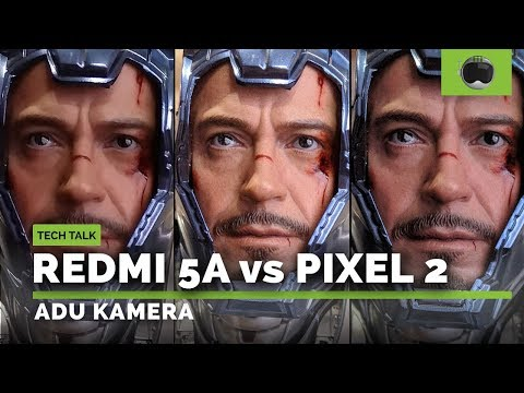 Xiaomi Redmi 5A vs Google Pixel 2: ADU KAMERA!