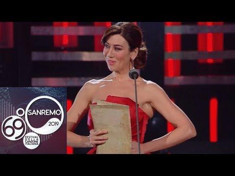 Sanremo 2019 - Virginia Raffaele in 'Habanera'