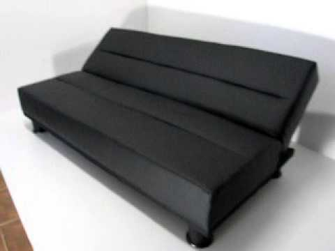 Deltacolchones futton sofa cama 2 plazas futon youtube - Sofa camif ...