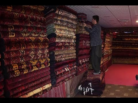 Afghanistan's Carpet Industry and Its Challenges/صنعت قالین‌بافی و مشکلات فرا راه آن درافغانستان