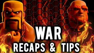 War Recap & Tips | Curmudgeons vs qeep | Clash of Clans