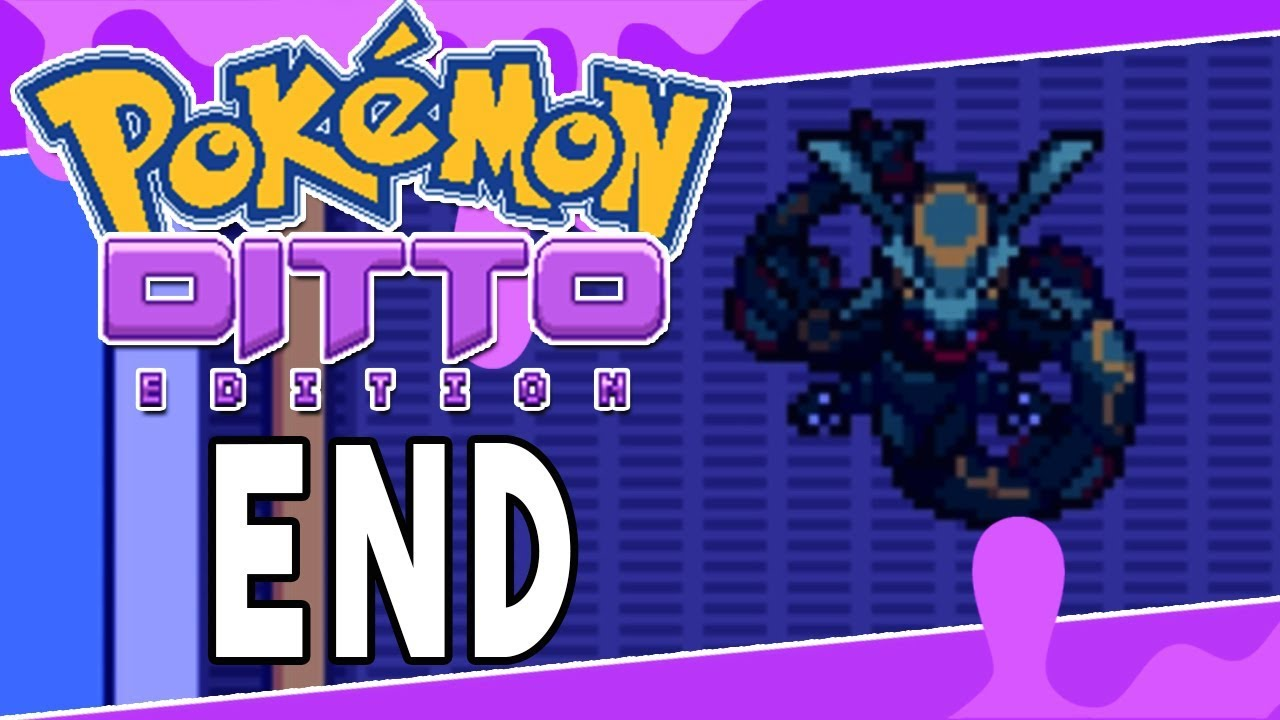 Pokemon Ditto Edition Finale Dittos True Forms Pokemon Fan Game