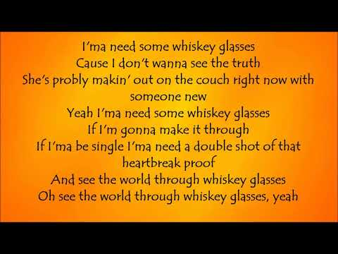 Whiskey Glasses - Morgan Wallen Lyrics
