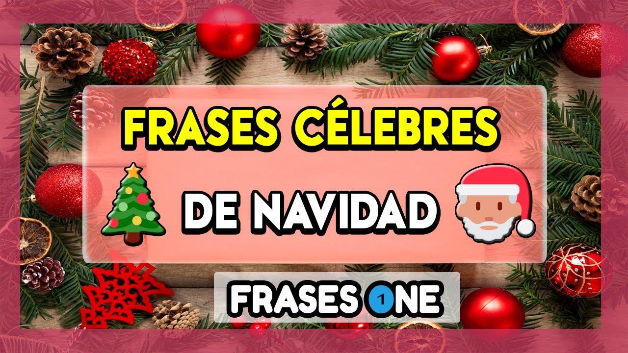 Frases Célebres De Navidad Frases One