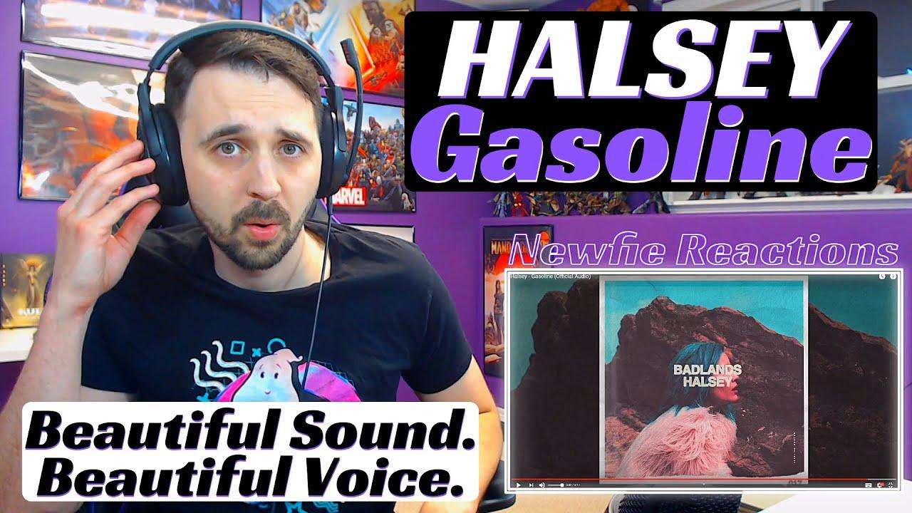 Halsey - Gasoline Official Audio | Reaction