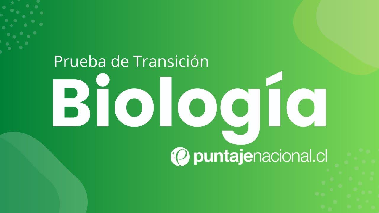 Download Prueba de Transición BIOLOGÍA | El agua, los iones y las biomoléculas | Clase N°2