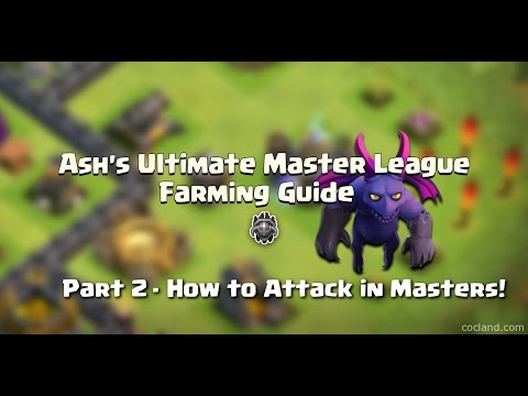 Clash Of Clans - How To Attack And Farm FAST At Master League (Best Strategy)