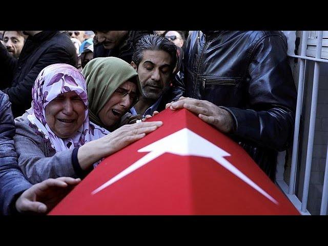 Турция прощается с жертвами теракта