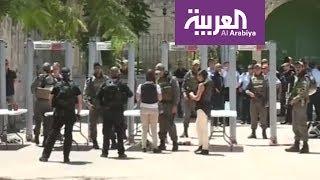 البوابات الإلكترونية.. إسرائيل تطوّق الحرم القدسي