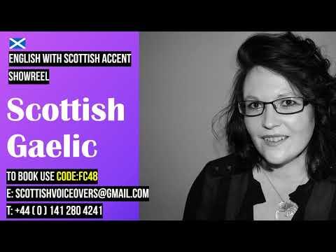 FC48 Scottish Gaelic Female Voice Actor and Narrator