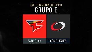 [ESP] COD CHAMPS - FAZE CLAN VS COMPLEXITY - #CWLChampsLVP