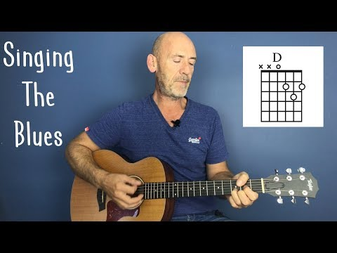 """Singing The Blues"" Guitar lesson by Joe Murphy"