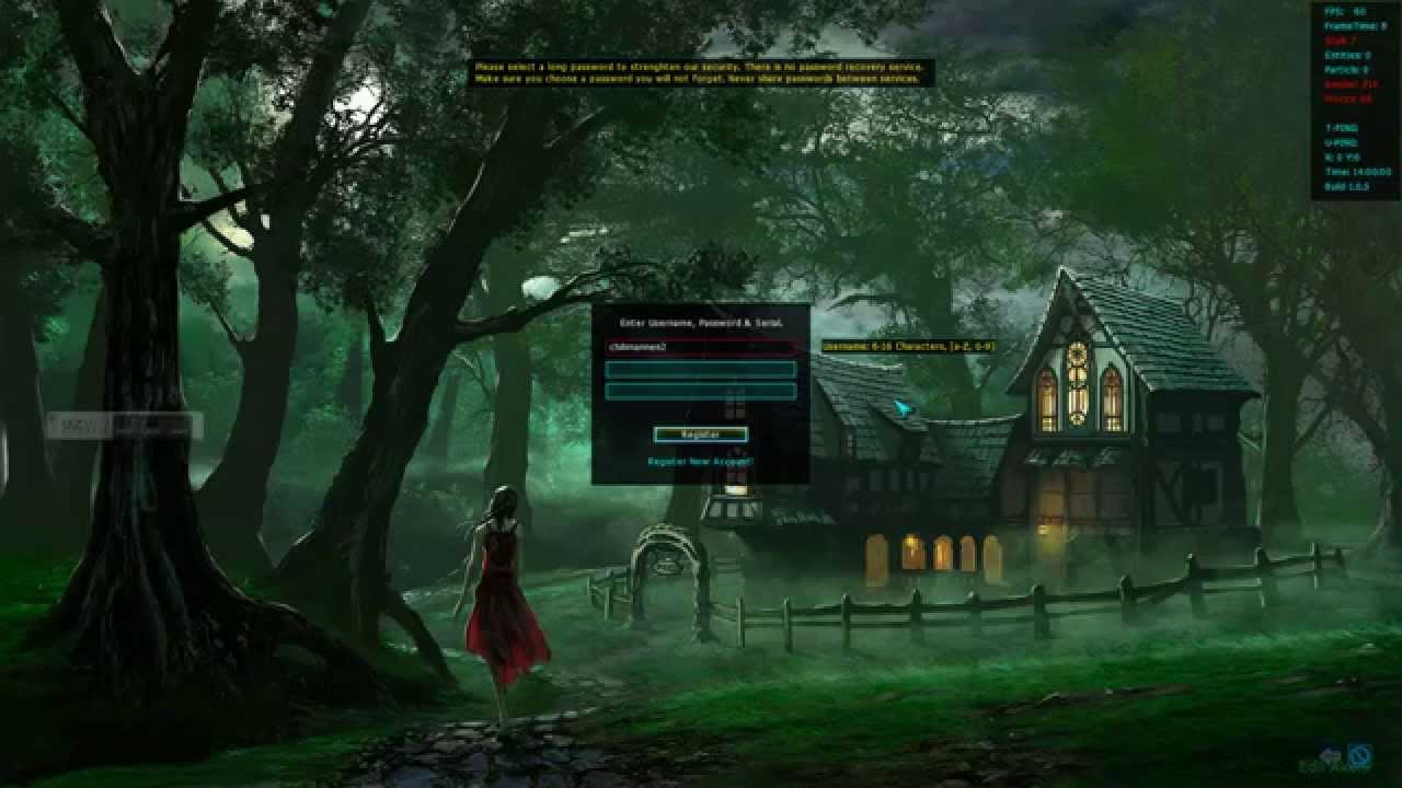 Multi-platform MMORPG - Programming in Delphi with Asphyre 2D