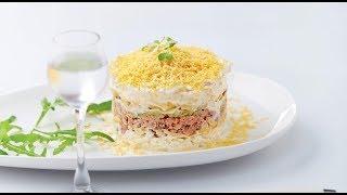 3 рецепта салатов . Рецепты от Кэша.