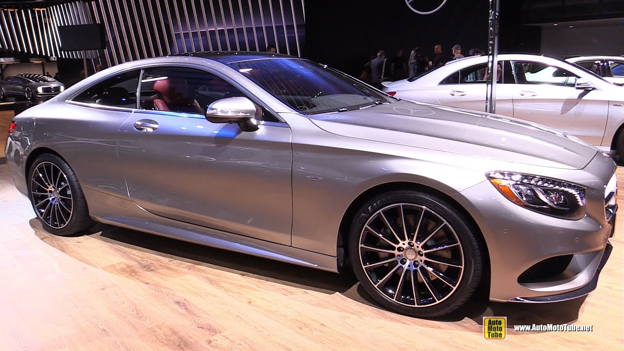 Elegant 2015 Mercedes Benz S Class Coupe S550 4matic   Exterior,Interior Walkaround    2015 Detroit Auto Show   YouTube