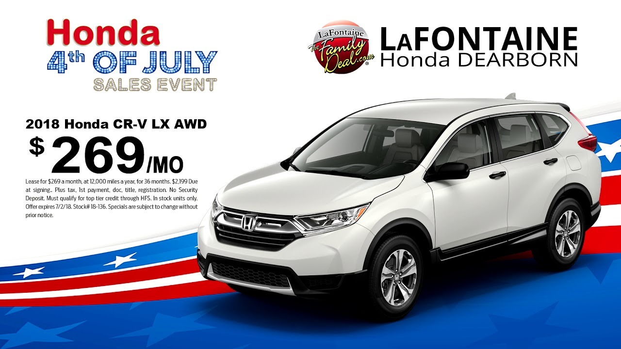 LaFontaine Honda in Dearborn | Summer's Hottest Deals - YouTube