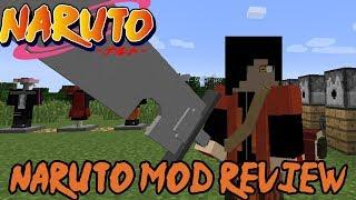 NEW SAGE MODE, AKATSUKI CLOAK, SHARINGAN, JUTSUS & MORE! || Minecraft Naruto Mod Review