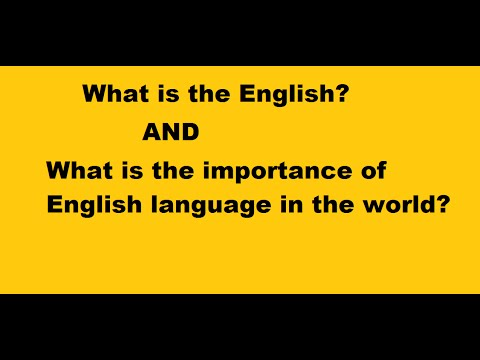 the importance of english in this Why english only there's no question that unrestricted multilingualism is  inefficient and can prevent important interactions from taking place and get in the  way.