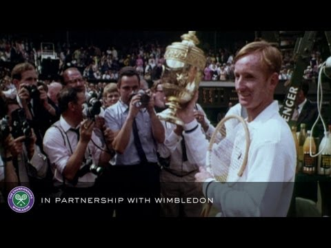 Laver v Roche (1968 Men's Final) - Rolex Wimbledon Golden Moments