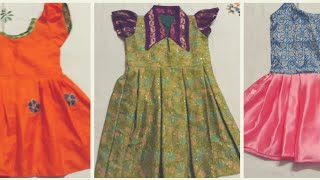 Frock designs for baby girl using waste cloth   Baby dress   Dress designs