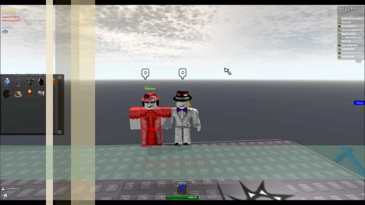 how to follow people onb roblox
