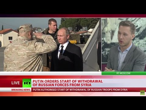Putin orders start of withdrawal of Russian forces from Syria