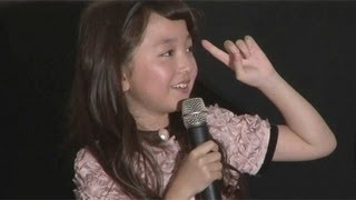漫画家・西原理恵子さん原作の映画「上京ものがたり」の公開初日舞台あ...
