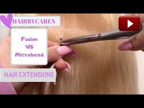 Hair Extensions Fusion Vs Microbead