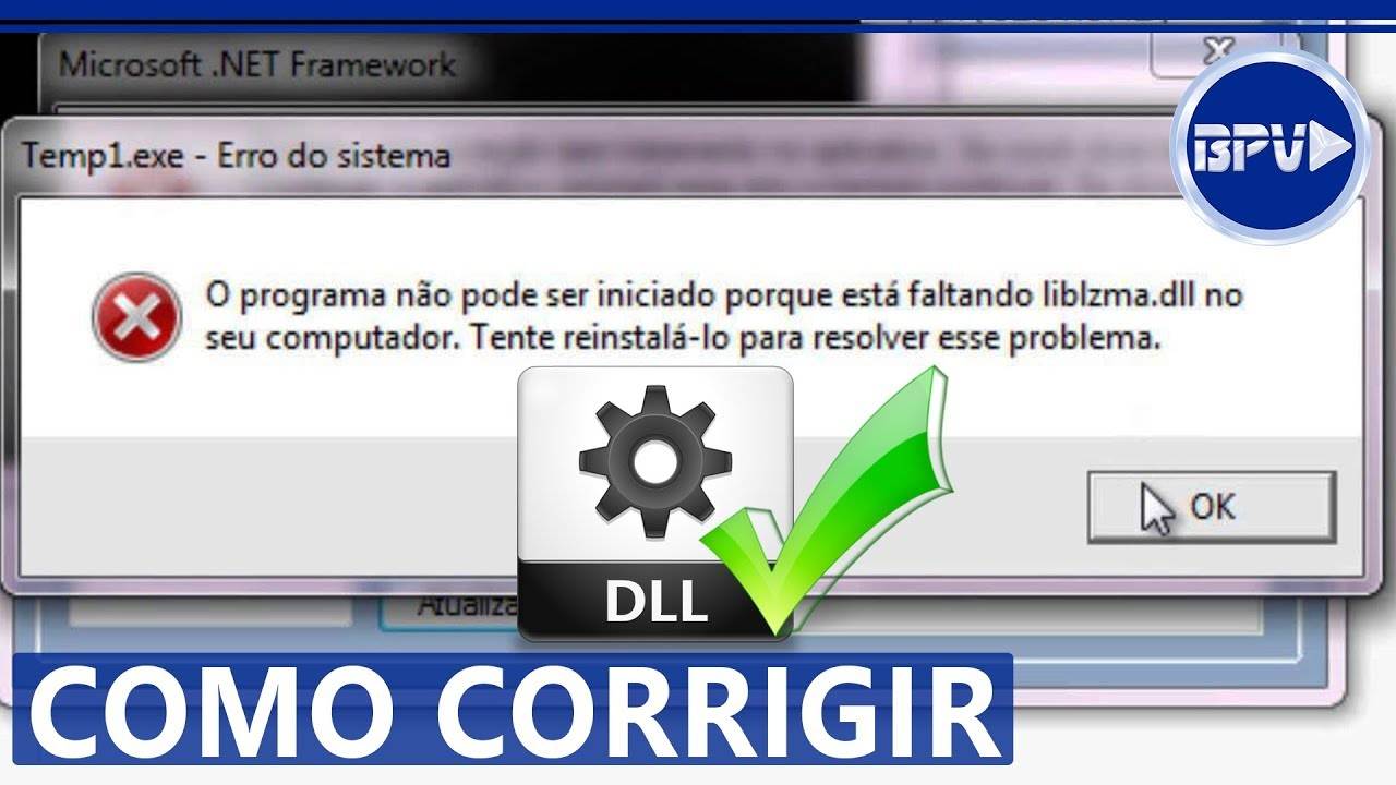 Como Resolver TODOS ERROS de DLL do seu PC Windows - YouTube