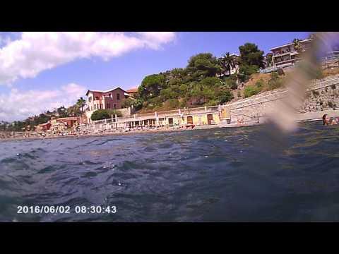 imperia italy 2016 foce beach porto maurizo