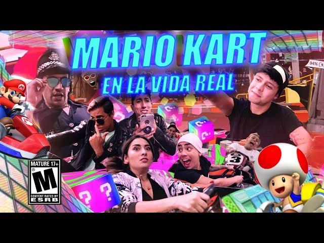 MARIO KART en la vida real ft. Mario Ruiz, El parche, La Mafe Mendez...