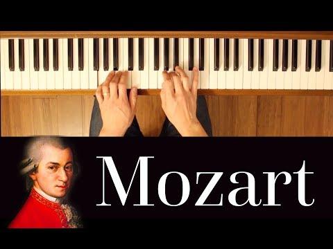 Andante in C Major (Mozart) [Early intermediate Classical Piano Tutorial]