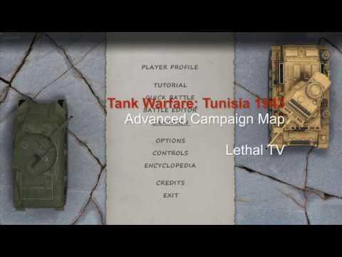 Tank Warfare: Tunisia 1943 Campaign Map Advanced |