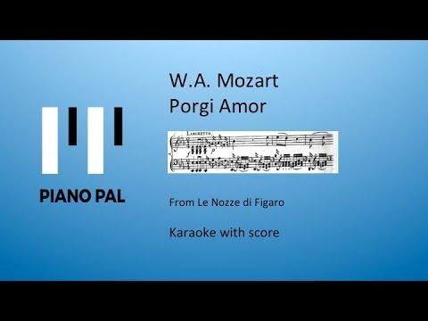 Porgi Amor Karaoke Pianopal W.A. Mozart