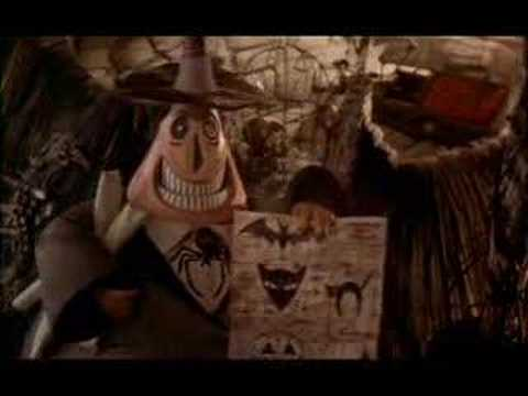 Nightmare Before Christmas - Mayor's Visit - YouTube