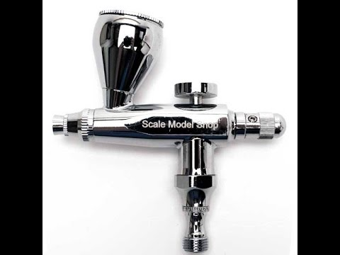 Scale Model Shop : Single Action Airbrush : Product Review