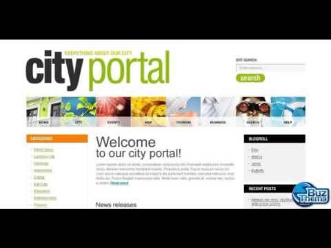 What's the best WordPress theme to build up a town portal website