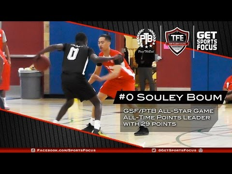 NEW ALL-STAR GAME RECORD HOLDER - USF Bound Souley Boum Scores 29