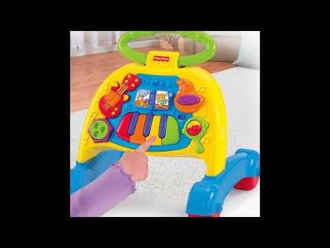 Fisher Price Brilliant Basics Musical Activity Walker   Best Kids Ride On Toys