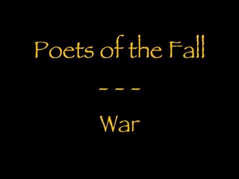 Lyrics traducti française  Poets of the Fall : War