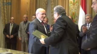 مصر العربية | | توقيع بروتوكول تعاون بين الإنتاج الحربي والتعليم العالي دعاء احم