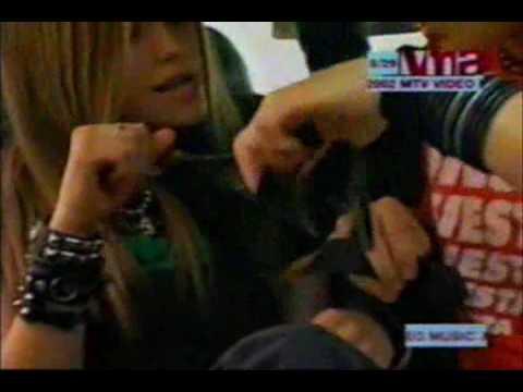 Avril Lavigne very funny